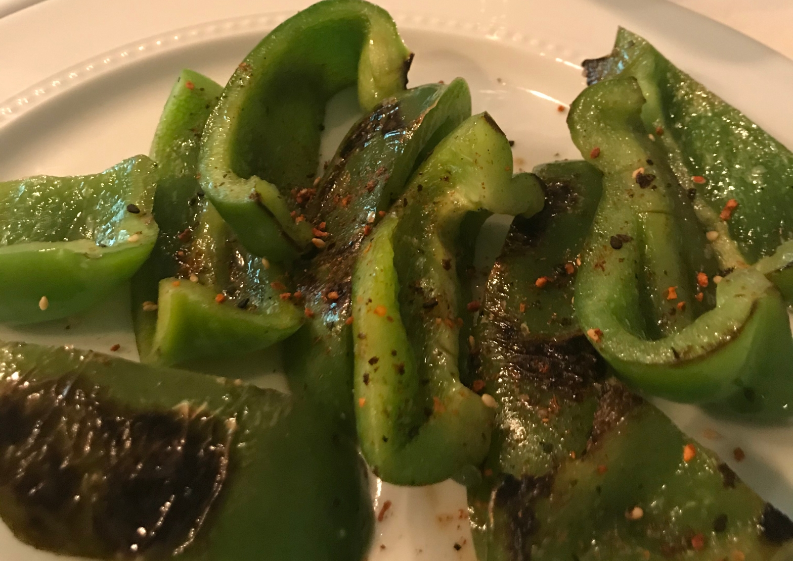 Shishito-style green bell peppers | The Picky Eater Chronicles